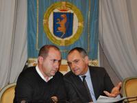Il presidente Menesini (a dx) con il vice Maurizio Verona