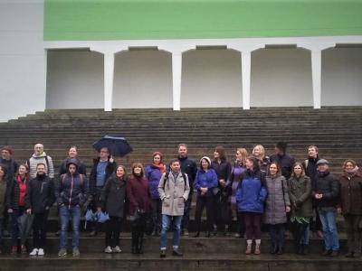 Il gruppo di partecipanti
