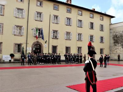 La caserma sede del Comando provinciale dei Carabinieri