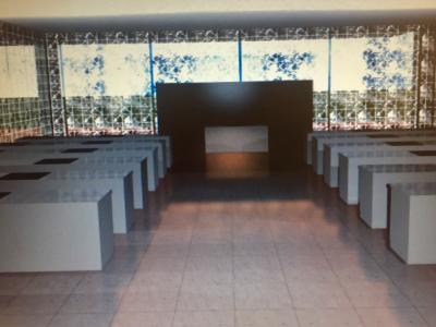 il rendering delle nuove cucine del Marconi nel progetto di riqualificazione