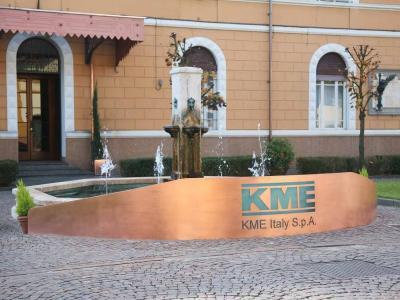 L'ingresso dello stabilimento KME di Fornaci di Barga