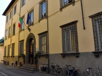 La vecchia sede del Giorgi in via del Giardino Botanico a Lucca