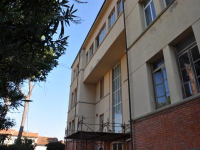 facciata principale della scuola