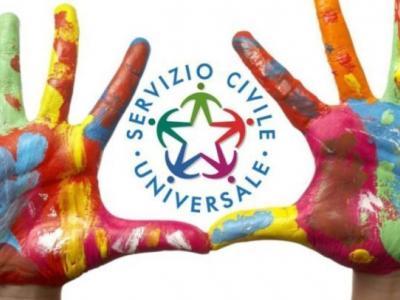 Uno dei loghi del nuovo Servizio Civile Universale