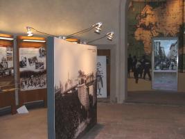 L'interno del museo Cresci