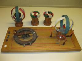 Apparecchiatura per campo magnetico ruotante