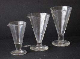 Bicchieri conici
