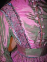 Bohéme - taffettà - particolare dell'abito