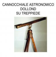 Cannocchiale astronomico Dolland su treppiede