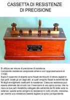 Cassetta di resistenze di precisione