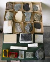 Collezione di rocce metamorfiche
