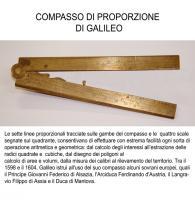 Compasso di proporzione di Galileo