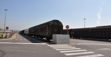 Lo scalo merci ferroviario del Frizzone