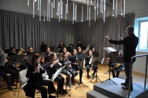 la sala della musica del Liceo
