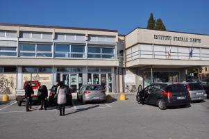 L'ingresso dell'istituto Stagi