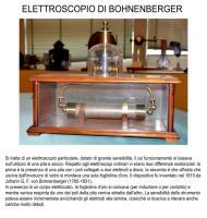 Elettroscopio di Bohnenberger