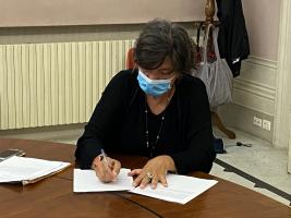 La firma della consigliere provinciale Maria Teresa Leone