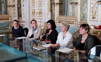 La conferenza stampa svoltasi in Comune a Lucca oggi