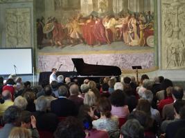 Uno dei concerti delle precedenti edizioni (Lucca Classica Music Festival)