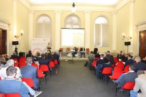 la sala Tobino durante il meeting