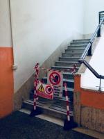 vano scale interdetto