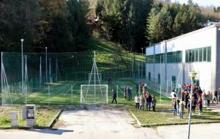 una veduta del campo sportivo