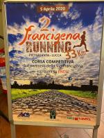 Il manifesto della Francigena Running 2020