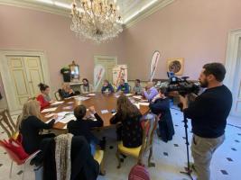 Un altro momento della presentazione a Palazzo Ducale