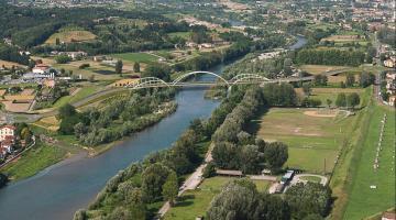 un'altra immagine di come sarà il nuovo ponte