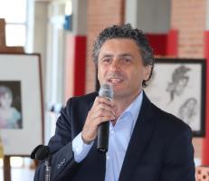 il consigliere provinciale delegato all'istruzione Luca Poletti