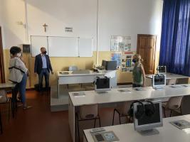 Un laboratorio del Carducci