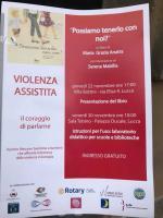 Locandina presentazione libro Maria Grazia Anatra