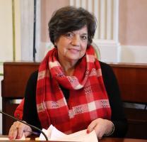 La consigliera Maria Teresa Leone (maggioranza)