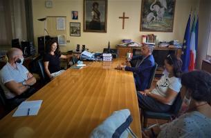 L'incontro all'ITC Carrara con la nuova preside Bechelli