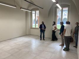 Una delle due nuove aule al Liceo Musicale di Lucca