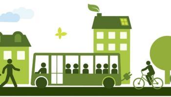 un'immagine rendering di mobilità sostenibile