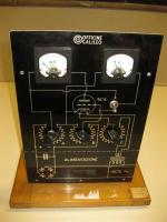 Modello di amplificatore con triodo