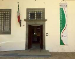 L'ingresso del Mur in Cortile degli Svizzeri