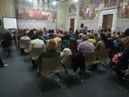 Immagine  del pubblico in sala