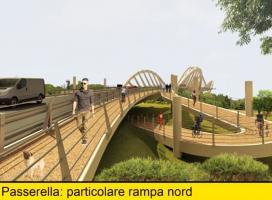 Nuovo Ponte sul Serchio rampa nord