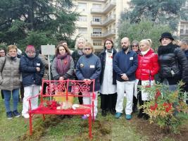 Panchina Rossa in memoria di Vania Vannucchi