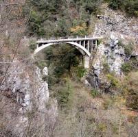 Un'immagine del ponte del Fogliaio di alcuni anni fa