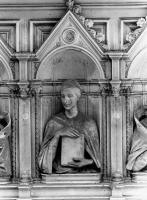 Portone sinistro di S. Maria del Fiore - in restauro Augusto Passaglia
