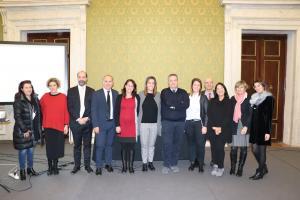 """Relatori e organizzatori dell'evento """"Le politiche family friendly in Toscana"""""""