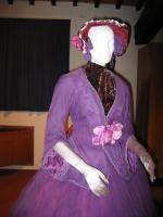 Rondine - chiffon - particolare dell'abito