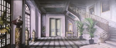 Scena 20 - Complesso Guermantes ingresso - Pietro Satiro