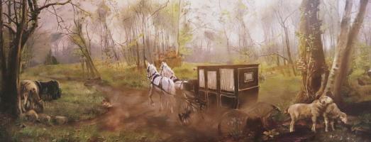 Scema 5 - Strada di campagna Carqueville - Jessica Scudieri