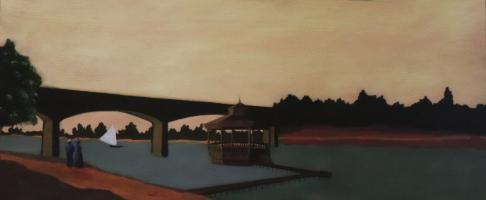 Scena 9 - Passeggiata lungo la diga - Giuliana Pavesi
