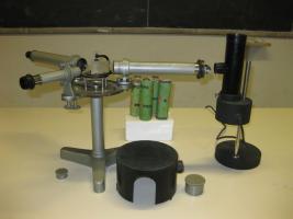Spettrometro con lampade spettrali