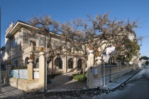 l'esterno di Villa Argentina